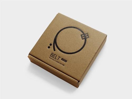ベルトアタッチのオリジナルパッケージ